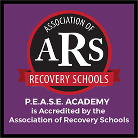 P.E.A.S.E. Academy is Accredited by the Association of Recovery Schools.