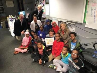 MTCS and metro community celebrate Ann Uzendoski, of Banaadir Academy – North Campus!