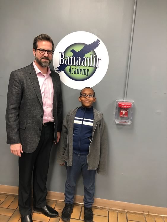 Superintendent Erlandson stopped at Banaadir South