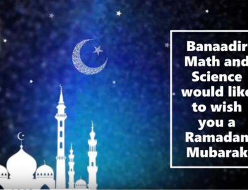 Ramadan Mubarak from Banaadir Math & Science