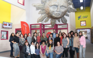 The Latinas Unidas Network held their monthly meeting at MTS Elementary School in November.