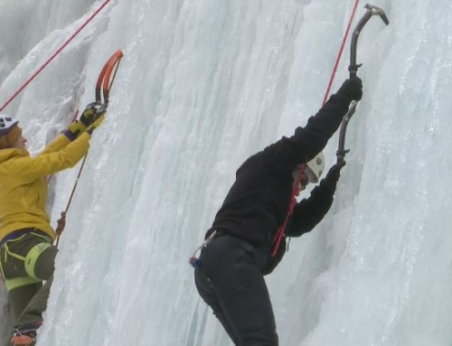 Michigan 2020 Ice Fest takes climbers to new heights
