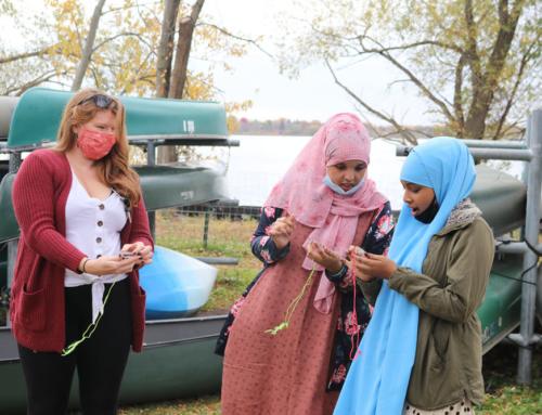 Learning on Lake Nokomis