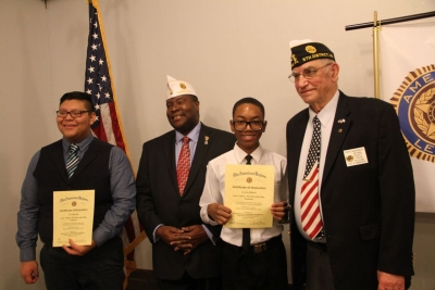 Cadets Win Constitutional Speech Contest