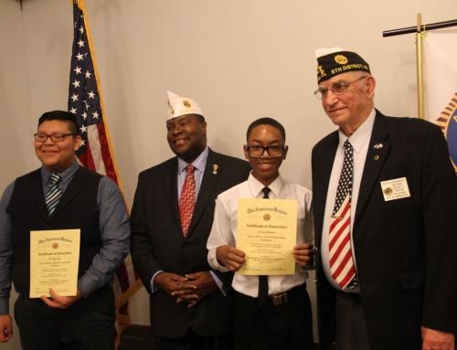 Cadets Win Constitutional Speech Contest