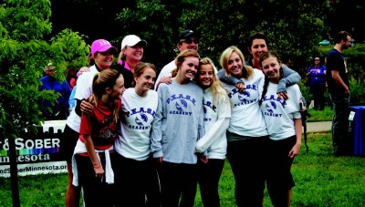 Walk to support recovery