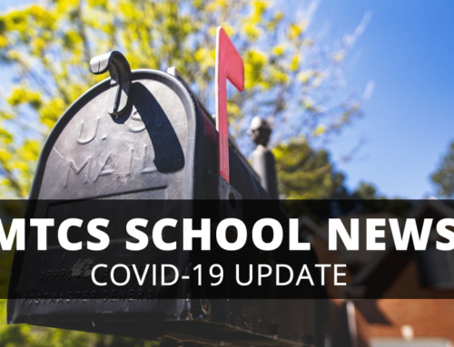 MTCS Family Letter & Update – 4/23/2020
