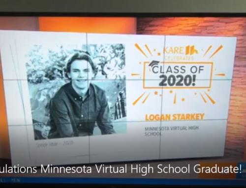 Congratulations Minnesota Virtual High School Graduate!
