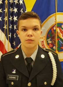 Drew Cushing - October Cadet of the Month