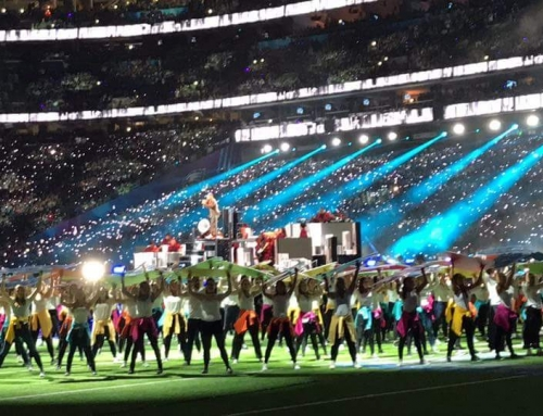 MTS Elementary staff performed at Super Bowl Halftime event!