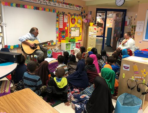 MTCS Superintendent Taught a Few Songs to Students