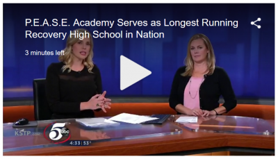P.E.A.S.E. Academy Serves as Longest Running Recovery High School in Nation