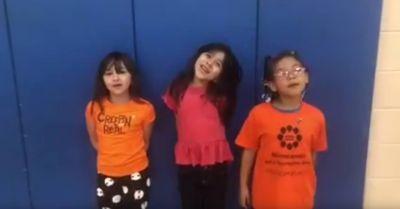 MTS Elementary celebrates Unity Day.