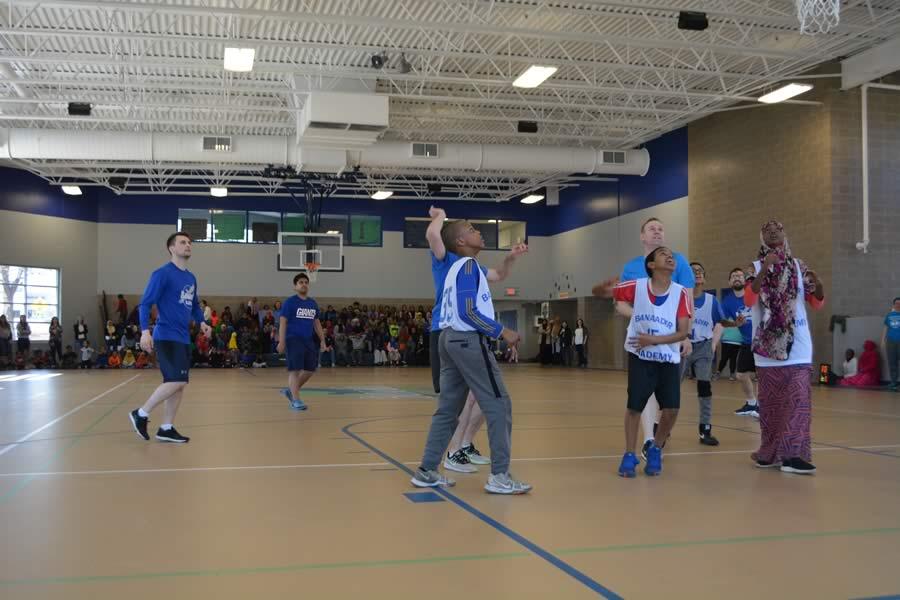 Banaadir North students basketball game