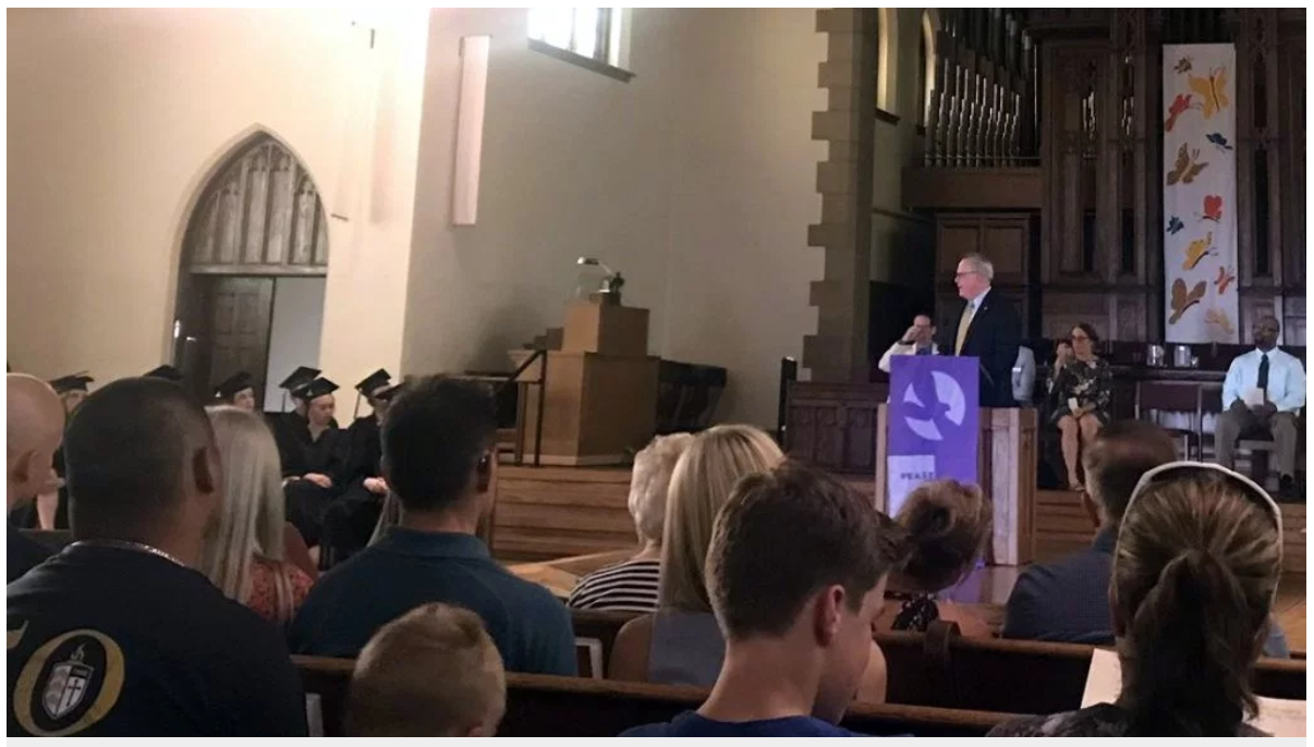 At this Minneapolis high school graduation, U.S. drug czar heralds 'the power of recovery'