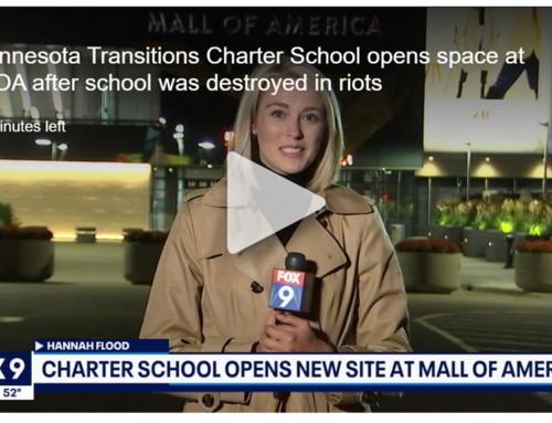 Minnesota Transitions Charter School opens space at MOA after school was destroyed in riots